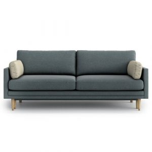 Emilly 4 Seater Clic Clac Sofa Bed OPTISOFA Upholstery Colour: Cosmic Steel/Briosca Beige