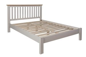 Fay Oak and Grey King Size Bed