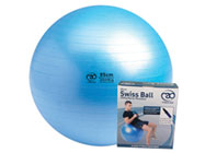 Fitness Mad Pro Swiss Ball & Pump 55cm