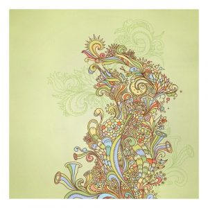 Floral Illustration Graphic Art Print on Canvas East Urban Home