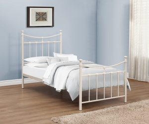 Georgia Cream Single Bed