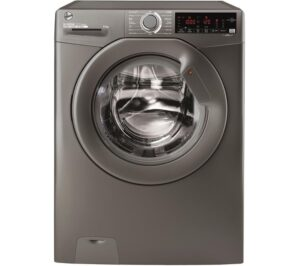 HOOVER H-Wash 300 H3W 69TMGGE NFC 9 kg 1600 Spin Washing Machine - Graphite, Graphite