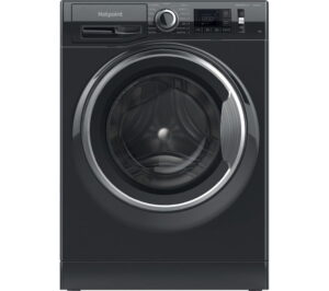 HOTPOINT Activecare NM11 964 BC A UK N 9 kg 1600 Spin Washing Machine - Black, Black