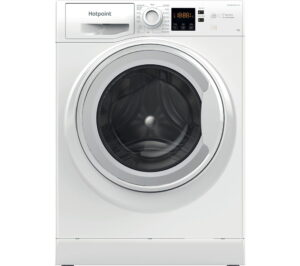 HOTPOINT Coreu0026tradeu0026tradeNSWR 963C WK UK N 9 kg 1600 Spin Washing Machine - White, White