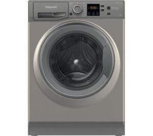 HOTPOINT NSWR 943C GK UK 9 kg 1400 Spin Washing Machine - Graphite, Graphite