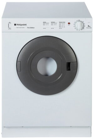 Hotpoint NV4D01P 4KG Vented Tumble Dryer - White