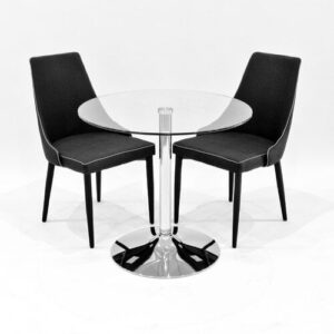 Ingerson Dining Set with 2 Chairs Metro Lane