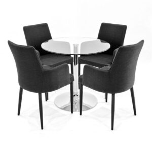 Ironwood Dining Set with 4 Chairs Metro Lane