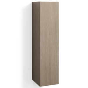 Jerkins 30 x 123cm Wall Mounted Tall Bathroom Cabinet Brayden Studio Finish: Light Oak