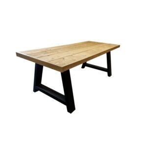 Karp Dining Table Williston Forge Size: H76 x L220 x W84cm