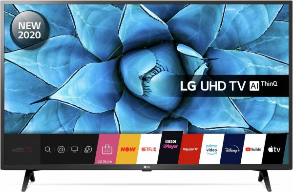 LG 43 Inch 43UN73006LC Smart 4K Ultra HD LED TV with HDR