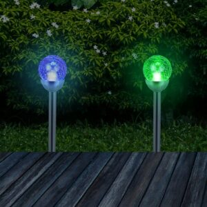 Lavallie LED Pathway Light Set Sol 72 Outdoor Light Colour: Colour changing