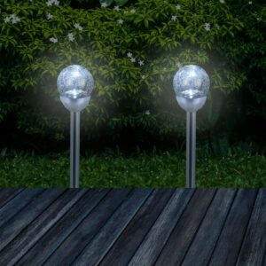 Lavallie LED Pathway Light Set Sol 72 Outdoor Light Colour: White light