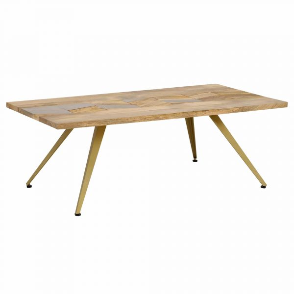 Leif Coffee Table, Natural Mango Wood