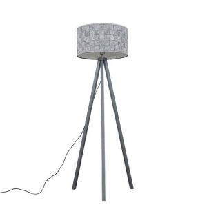 Mejias 149cm Tripod Floor Lamp Mercury Row