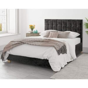 Millstadt Upholstered Ottoman Bed Ebern Designs Size: Super King (6'), Colour: Lilac