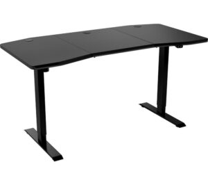 NITRO CONCEPTS D16E Carbon Gaming Desk - Black, Black