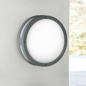 Oberle 1 Light LED Outdoor Bulkhead Light Sol 72 Outdoor Size: 30cm diameter