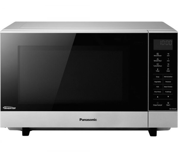 PANASONIC NN-SF464MBPQ Solo Microwave - Stainless steel, Silver