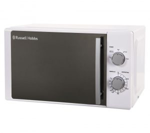 RUSSELL HOBBS RHM2093 Compact Solo Microwave - White, White