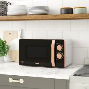 Rosegold 20 L 800W Countertop Microwave Tower Colour: White