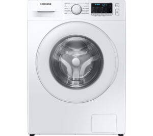 SAMSUNG ecobubble WW70TA046TE/EU 7 kg 1400 Spin Washing Machine - White, White