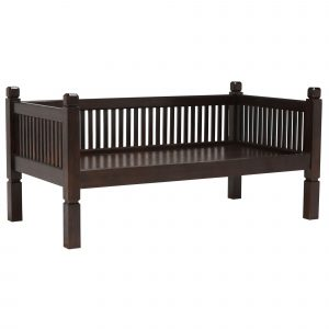 Sumatra Day Bed, Dark Wood