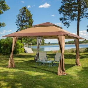 Torkom 4 x 4m Steel Pop-Up Gazebo Sol 72 Outdoor