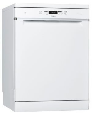 Whirlpool WFC3C33PFUK Full Size Dishwasher - White