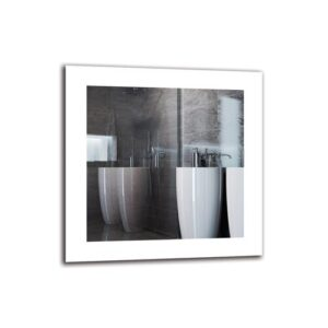 Aleisha Bathroom Mirror Metro Lane Size: 40cm H x 40cm W
