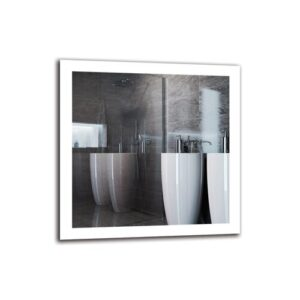 Aleisha Bathroom Mirror Metro Lane Size: 80cm H x 80cm W