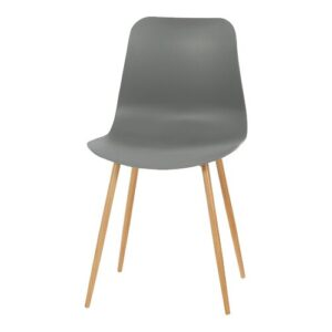 Amabella Dining Chair (Set of 2) Mack + Milo Colour: Grey