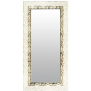 Angelina Maria Wall Mirror Rosalind Wheeler Size: 59cm H x 149cm W, Mirror: Without facets