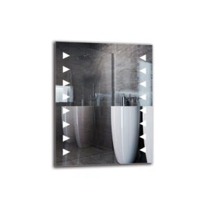 Ayse Bathroom Mirror Metro Lane Size: 90cm H x 70cm W