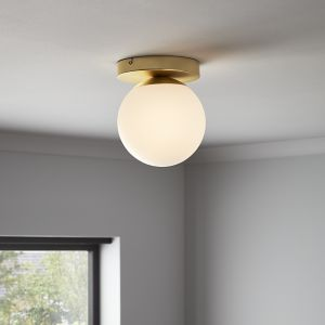 Baldaz Brushed Brass effect Pendant ceiling light