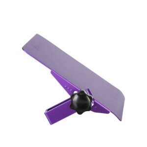 Barks Attachable to Folding Laptop 0.64cm H x 14cm W Desk Mouse Platform Symple Stuff Colour: Purple