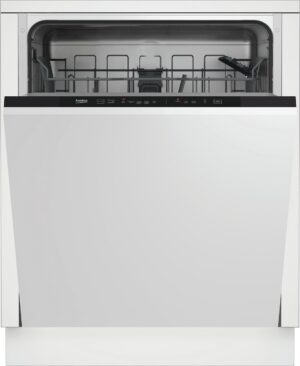 Beko DIN15321 Full Size Integrated Dishwasher - White