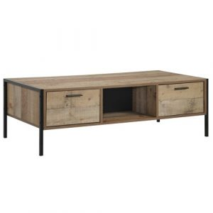 Bodgers Coffee Table with Storage Borough Wharf Colour: Rustic Oak