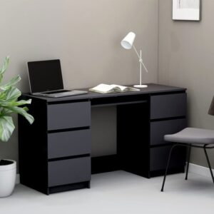 Bonaparte Desk Brayden Studio Colour: Grey