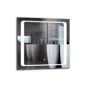 Boothbay Bathroom Mirror Metro Lane Size: 40cm H x 40cm W