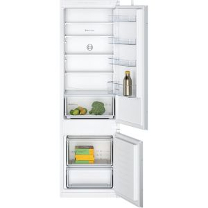 Bosch KIV87NSF0G 70:30 White Integrated Fridge freezer