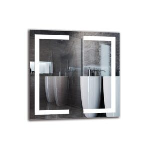 Bowmanville Bathroom Mirror Metro Lane Size: 60cm H x 60cm W