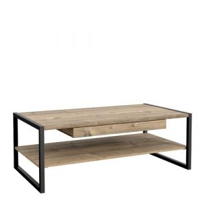 Branford Coffee Table with Storage Ebern Designs Tabletop colour: Light brown