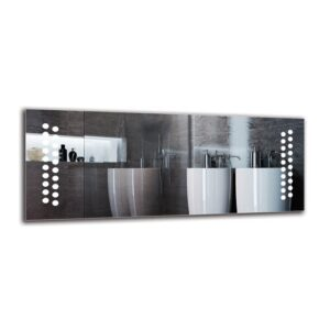Bricher Bathroom Mirror Metro Lane Size: 40cm H x 100cm W