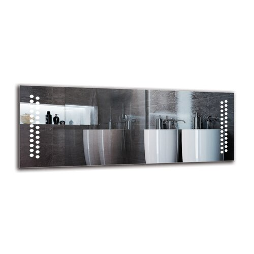 Bricher Bathroom Mirror Metro Lane Size: 50cm H x 130cm W