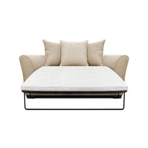 Bullock 2 Seater Fold out Sofa Bed Zipcode Design Upholstery Colour: Oyster