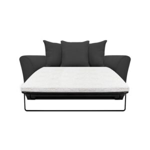 Bullock 2 Seater Fold out Sofa Bed Zipcode Design Upholstery Colour: Stirling Grey
