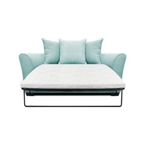 Bullock 2 Seater Fold out Sofa Bed Zipcode Design Upholstery Colour: Turquoise