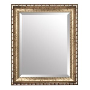 Burrows Wall Mirror ClassicLiving Size: 67cm H x 107cm W, Mirror: Without facets