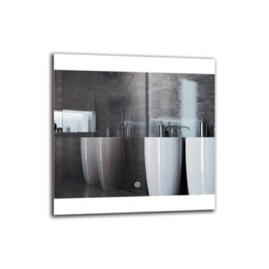 Cabbot Bathroom Mirror Metro Lane Size: 50cm H x 50cm W